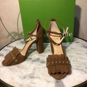 Kate Spade Prima suede pumps. New